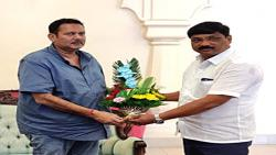 NCPs ZP president met Udayanraje  .... Political discussion abound