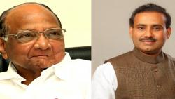 NCP President Sharad Pawar and Minister Rajesh Tope