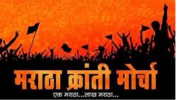 The government will be responsible if there is an outbreak of Maratha community