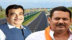 Minister Nitin Gadkari keeps his word true says MP Udayanraje