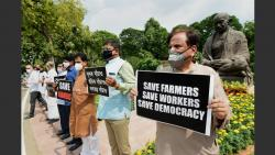 opposition parties will meet president today on agriculture bills issue