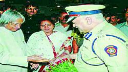 The first IPS officer of Pusegaon whose career was celebrated in the state ....