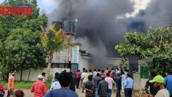 Three women workers die in a fire at a chemical company in Mulshi