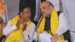 after joining tmc mukul roy says no will stay in bjp