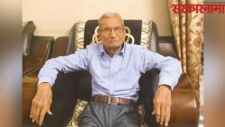Covid19 85 year old narayan dabhadkar gave his bed to other person