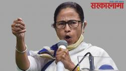 CM Mamta Banerjee protest against the Election Commission