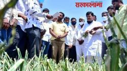 bjp leader pravin darekar meets farmers in nashik district