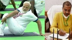 Modis yoga have a big role in saving patients from COVID says Munjapara Mahendrabhai