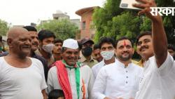 MLA Sunil Shelke will hold a meeting for Bhagirath Bhalke's campaign in Pandharpur by-election