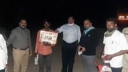 Ceo Visit early mornig news parbhani