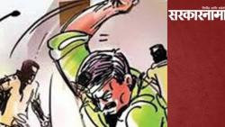 Shiv Sena taluka sub chief was beaten up by transgender's