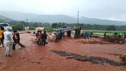 The village of Ambeghar was swept away in the landslide; 14 members of four families go missing