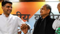 bjp blames congress and chief minister ashok gehlot for rajasthan political crisis