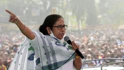 left parties and congress supports mamata banerjee over row of jai sriram