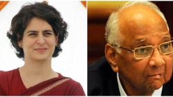sharad pawar criticizes central government over priyanka gandhis house issue