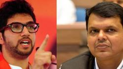 Devendra Fadnavis says to Aditya Thackeray, 'He is new!'