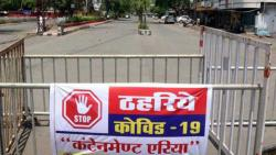 By Mistake BMC Put Containment Zone Board on Court Building