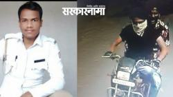 """Shocking incident in Pune; Rod attacked the police for saying, """"Don't you have any sense .jpg"""