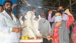 Ganesh Idol Reached Kashmir From Maharshtra