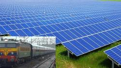 Railway to use Solar Energy for Cost Cutting