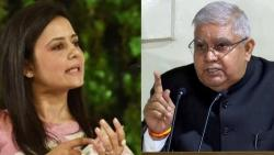 Do us a favour WB Governor dont come back says Mohua Moitra