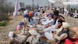 Farmers protest to oppose agriculture acts in amritsar finished