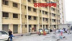 Two prisoners escaped from the 15th floor of the Kovid Center in Bhiwandi
