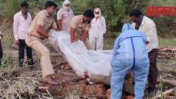 Sangvi's grandmother, who died due to corona, was cremated by the police