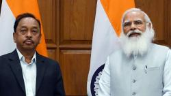 prime minister narendra modi appointed narayan rane in cabinet committee