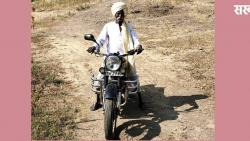 Eighty-five-year-old 'Bullet King' has been riding only bullets for 42 years.