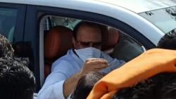 Ajit Pawar himself drove a car and inspected the development works in Baramati