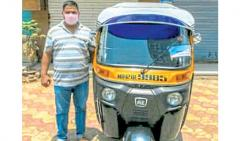 Two months free travel from rickshaw driver to handicapped, senior citizens
