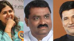MLA Vinayak Mete criticizes Pankaja Munde on the issue of sugarcane workers