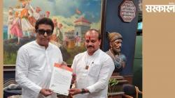Appointment of Vasant More as Pune City President of Maharashtra Navnirman Sena
