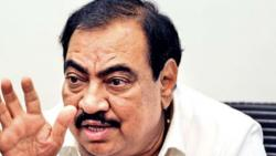 Big leaders in BHR fraud ; I know the names : Eknath Khadse