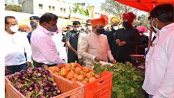 Good news for farmers: Rayat Bazaar launches in Satara under 'Vikel Te Pikel' campaign