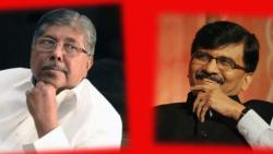 Chandrakant Patil- Sanjay Raut