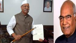 President honors former Governor Srinivasa Patil; Wishing long life by visiting the scepter