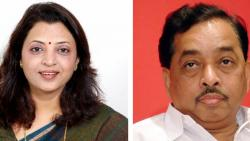 Manisha Kayande HIts out at  Narayan Rane over Uddhav Thackeray Remarks