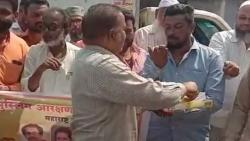 Muslim Commuity Distributed Sweets after Reservation Decission
