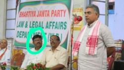Justice Kaushik Chanda appeared for BJP before High Court