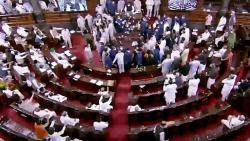 what happened in rajya sabha between government and opposition