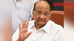 Sharad Pawar convened a meeting of NCP ministers in mumbai