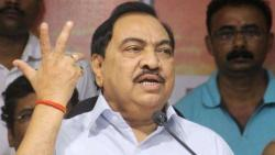 ED summons NCP Leader Eknath Khadse to appear in person