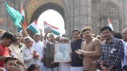 Sharad Pawar Flagged Off Rally organised by Yashwant Sinha