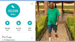 ex mp shivajirao adhalrao patil sheds 5 kg weight during lockdown walk
