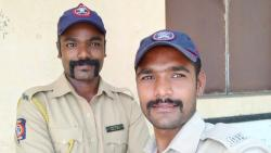 Two Constables from Satara police Decided not to Take leave in Lock Down Days
