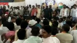 Dispute between two groups of NCP in front of Jayant Patil