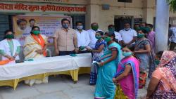 rahul patil distribute medicein and mask news
