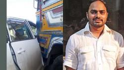 Tejas, son of former MLA Anil Gote, narrowly escaped the accident